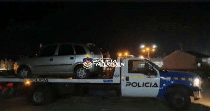 Plaza Huincul: Intervención policial por alcoholemia y lesión a un uniformado