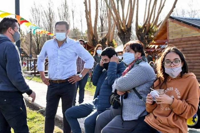 """Llancafilo: """"Visitar cada localidad nos permite dar inicio a nuevas gestiones"""""""