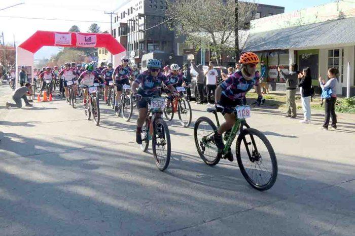 """Con total éxito se realizó la competencia ciclística """"Día de la Madre"""""""
