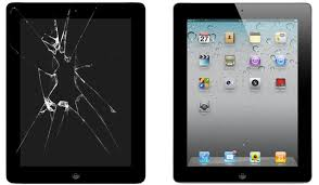 iPad reparation glace tactile