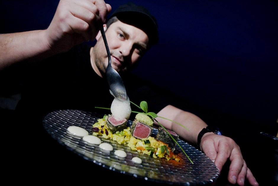 Chef Claudio Vargas · Foto Jaume Auso