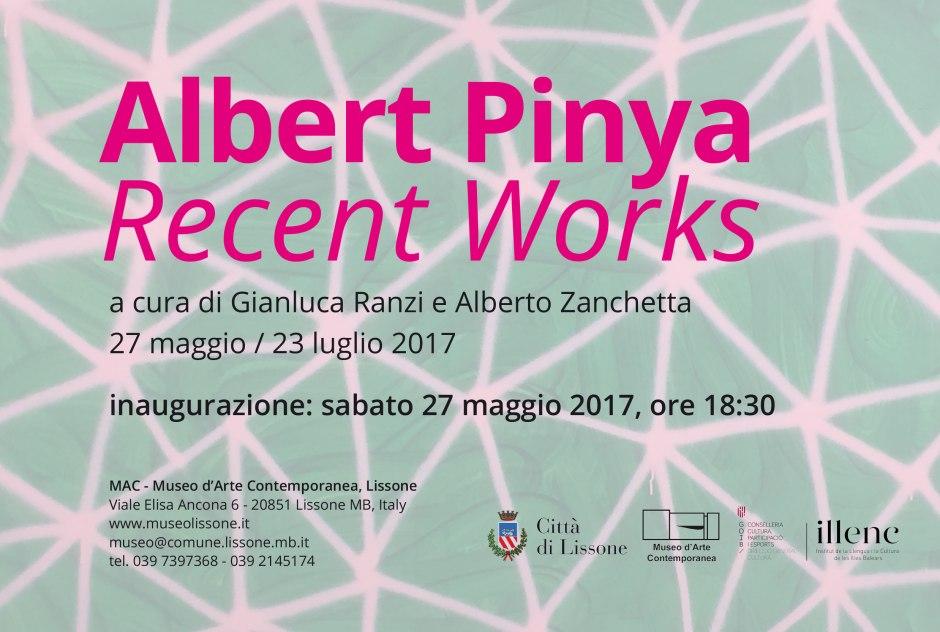 1_Flyer MAC_Albert Pinya_Recent Works_2017