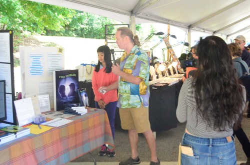 Shrewsbury Media Connection interviewed Laura T. Lee at the Spirit of Shrewsbury Fall Festival 2016 during her 60,000 words novel debut (Two Worlds: A novel of friends and foes from strange places) bookselling event.