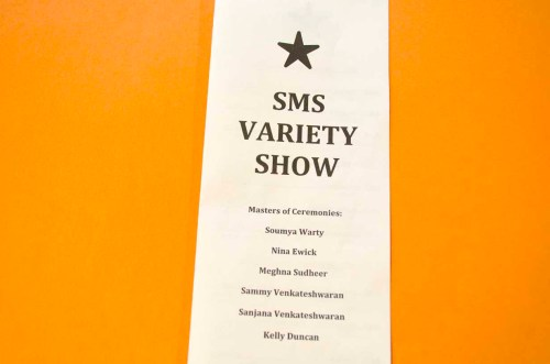 SMS Variety Show 2016