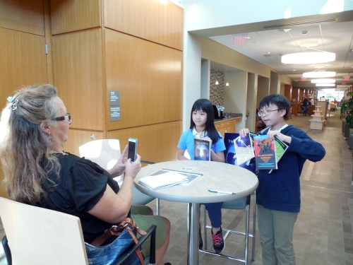 Young authors' books available at Spirit of Shrewsbury fall festival