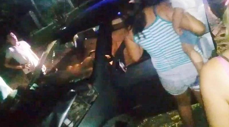 Barrancas: un accidente despertó la furia de los vecinos