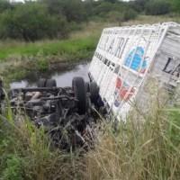 Falleció un camionero de la región tras un grave accidente en Entre Ríos