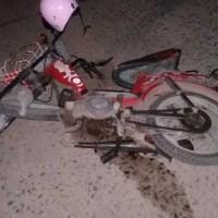 Una joven sufrió graves lesiones en un accidente en Barrancas