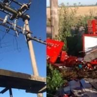 Insólito: robaron un transformador de la EPE en la zona rural de Maciel