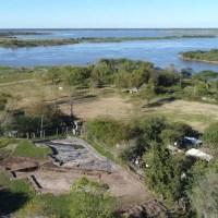 Gaboto inaugura su Parque Arquelógico sobre las ruinas del Fuerte