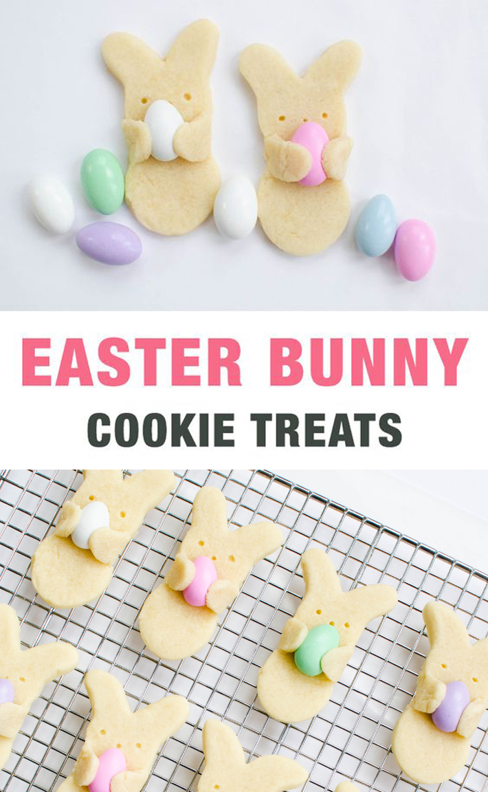 Sweet Easter Bunny Cookies