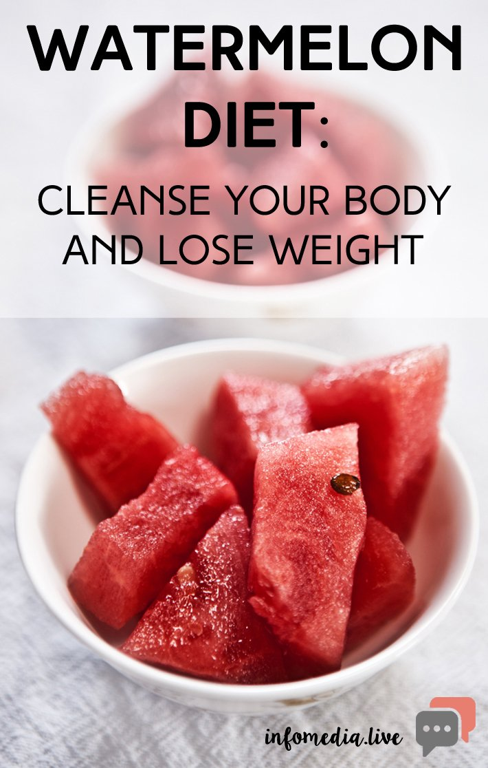 Watermelon Diet: Cleanse Your Body and Lose Weight
