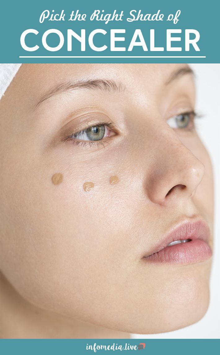Pick the Right Shade of Concealer