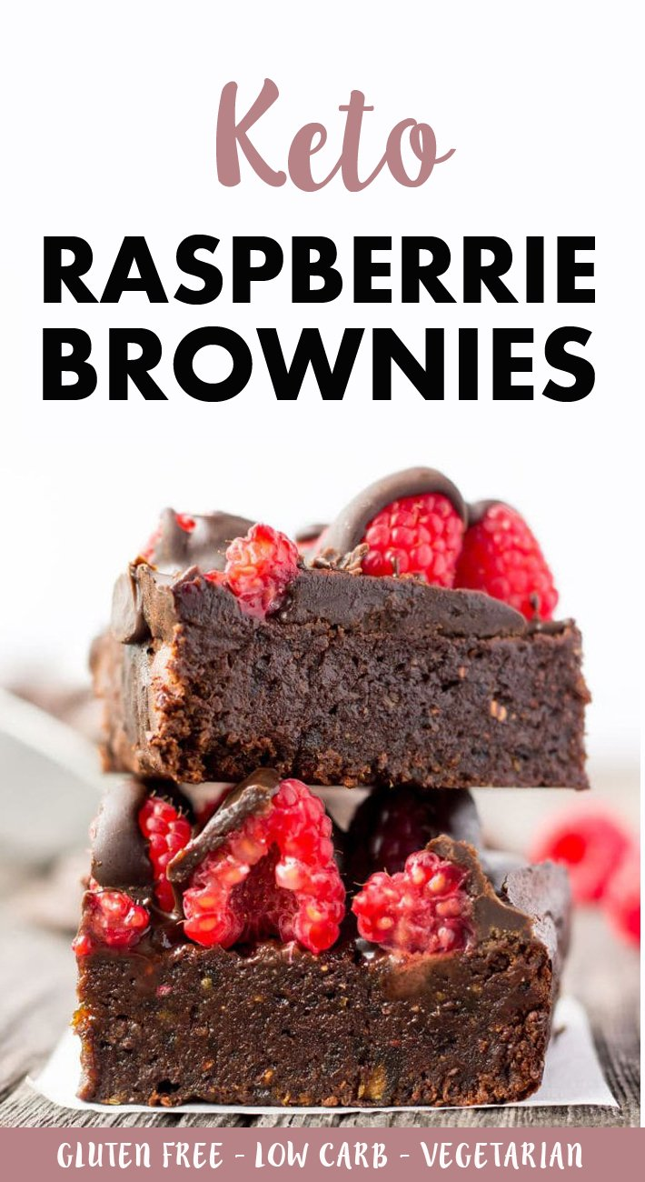 Keto Raspberrie Brownies