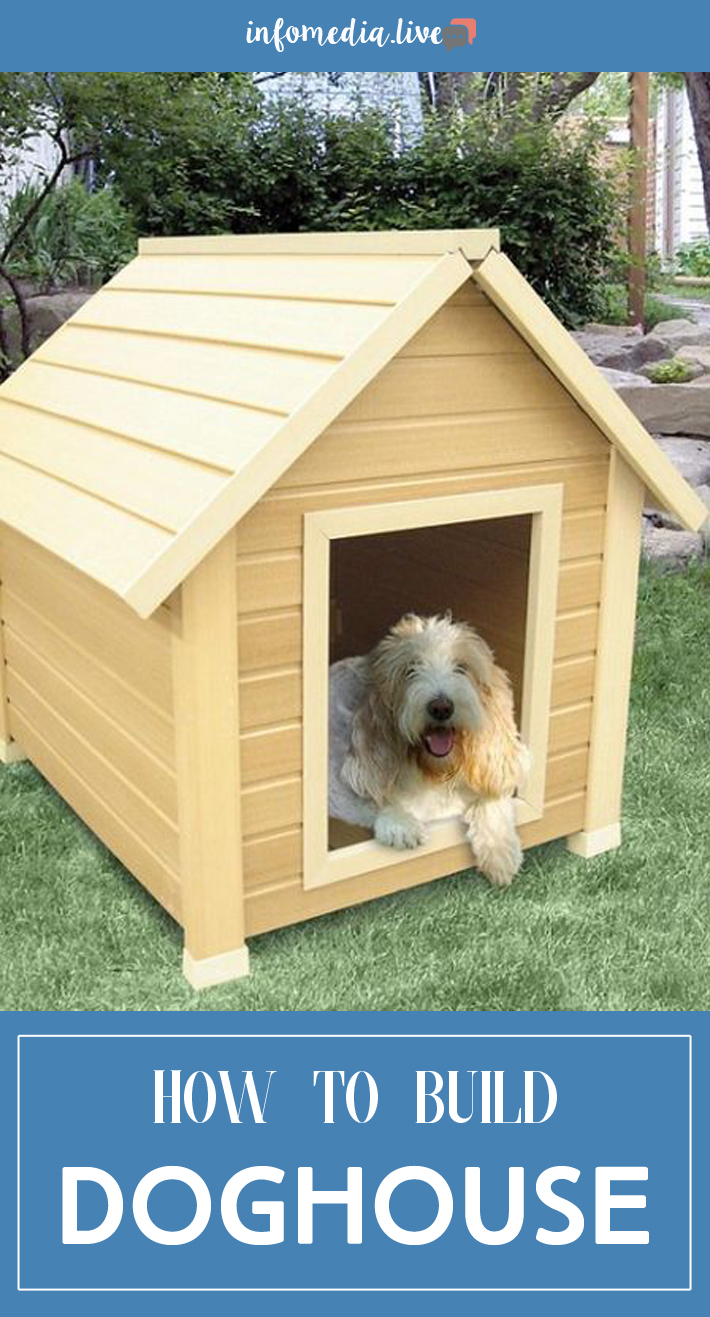 How to Build a Simple Gabled-Roof Doghouse