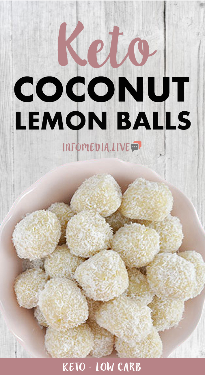 Keto Lemon Coconut Balls