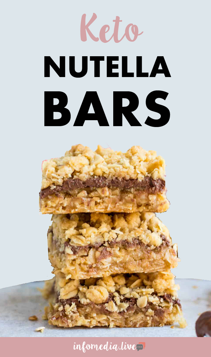 Keto Nutella Bars