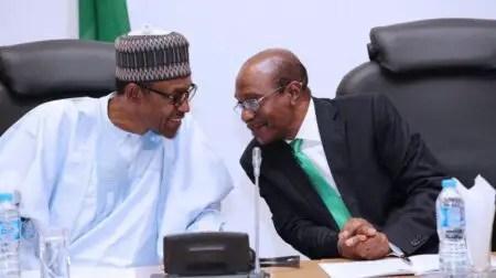 Emefiele And Buhari Forex crisis at its peak