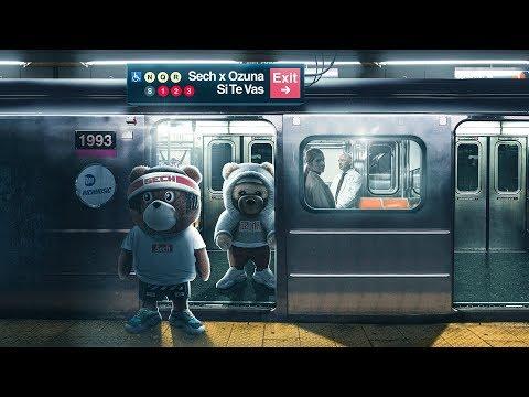 Official Audio:  Sech, Ozuna – Si Te Vas