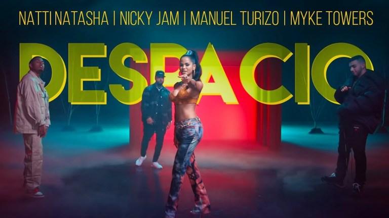 Natti Natasha   Nicky Jam   Manuel Turizo   Myke Towers – Despacio [Official Video]
