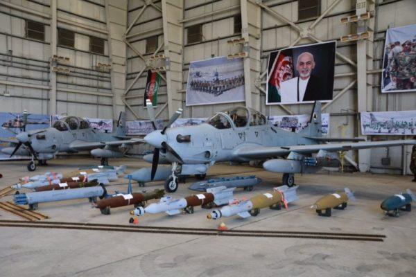 ВВС Афганистана получили очередную партию штурмовиков А-29 ...