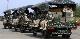 Pandemonium In Abia Community As Soldiers invade To Search For Arms