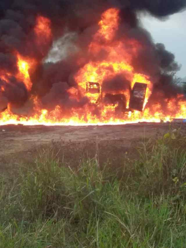 Soldiers in Abia State destroy illegal refinery in Rivers State