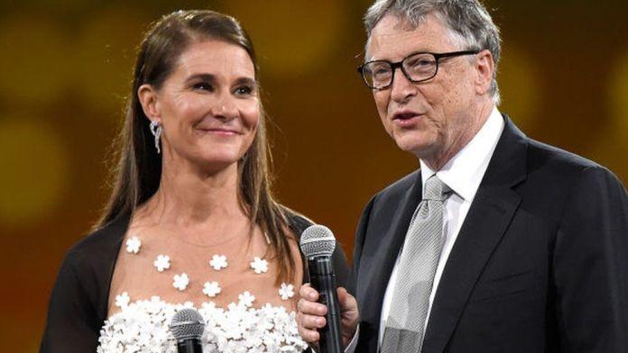 Bill Gate and Wife, Melinda