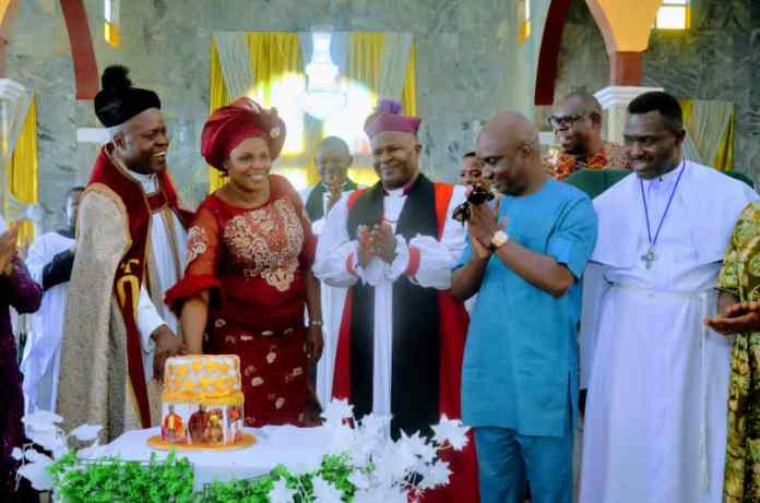 Abia Assembly Speaker Showers Encomium On Anglican Priest (See What He Said About The Priest)