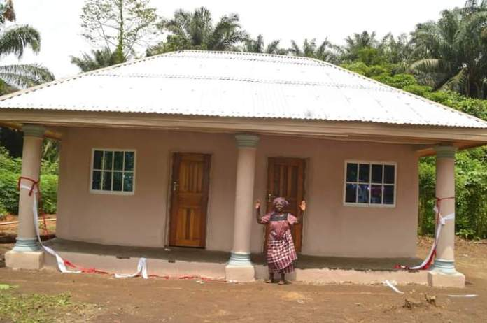Childless Widow Gets New Building