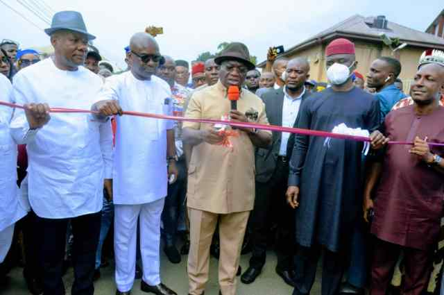 Abia State Assembly Speaker hails Gov Ikpeazu's Road Infrastructural Giant Strides In Aba