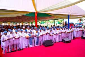 Don't Dissipate Your Energy Fighting Opposition- Sanwo-Olu Charges Elected Council Chairmen