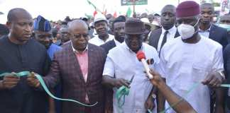 Ikpeazu Conferred With Chieftaincy Title As He Commissions Cottage Hospital