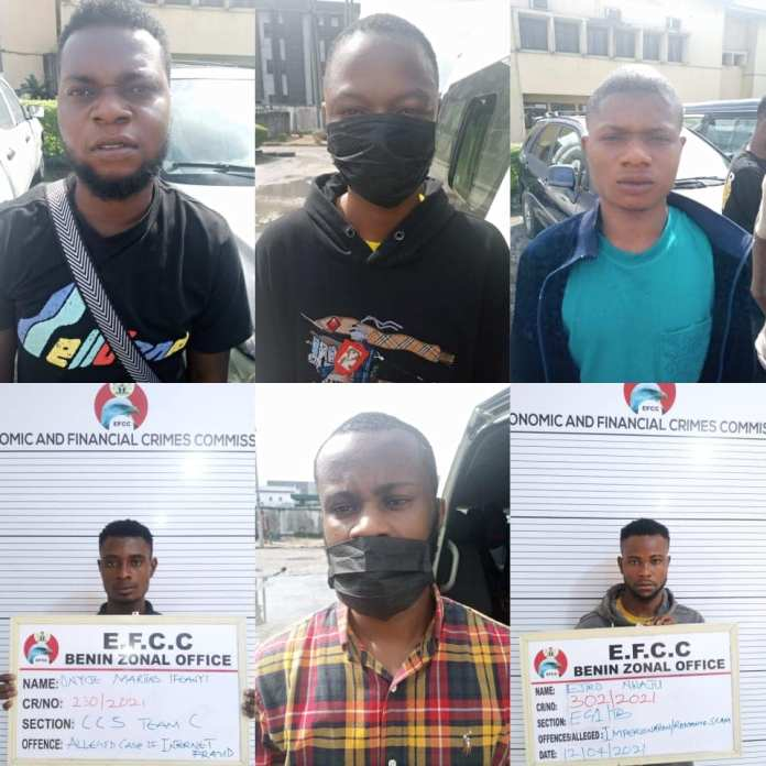 Port Harcourt High Court Convicts 33 Internet Fraudsters
