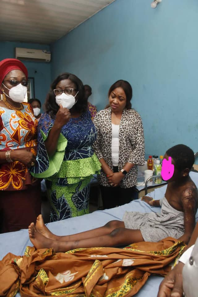 Abia's First Lady Vows To Ensure Justice For Abused 10-Year-Old Girl