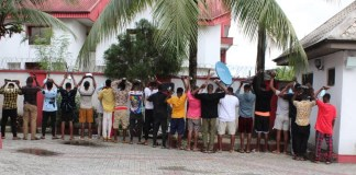 EFCC Operatives Swoop On 15 'Yahoo Boys' in Umuahia