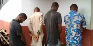 NSCDC Operatives Nab Vandals In Abia State