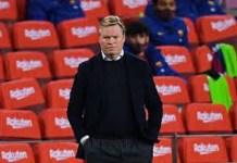 FC Barcelona Sacks Manager, Koeman