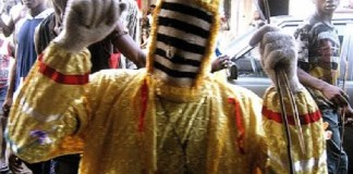 Wahala! Masqueraders arrested in Ondo for robbery