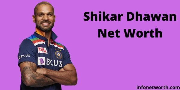 Shikhar Dhawan Net Worth- IPL Salary, Career & ICC Rankings