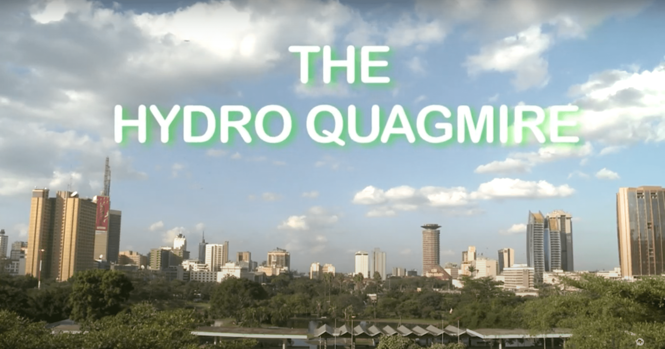 The Hydro Quagmire: Cartels cut into pipes, hinder access to water in Kenya's Mathare slum