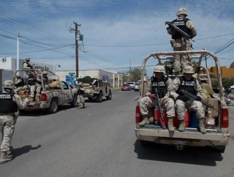 Los militares reportaron un nuevo cateo, esta vez en la colonia Nuevo Nogales.