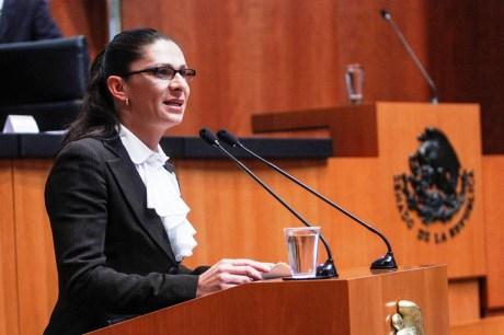 La senadora oriunda de Nogales.