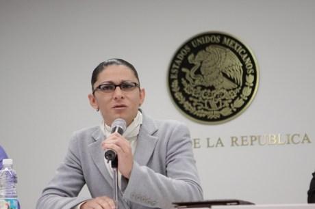 Ana Gabriela Guevara, Senadora.