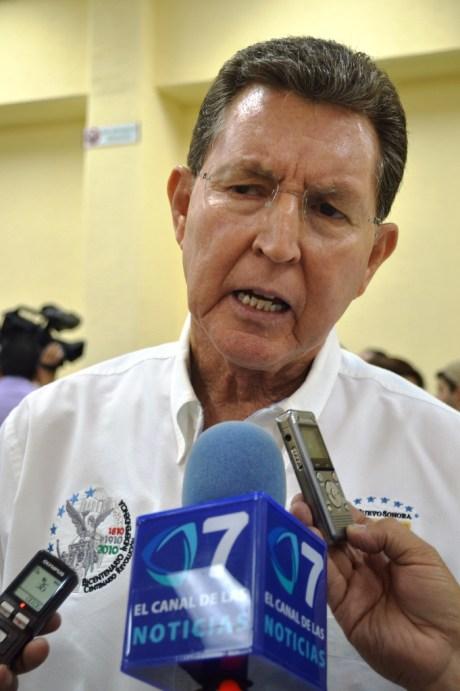 Ernesto Munro Palacio, secretario de Seguridad Pública en Sonora.