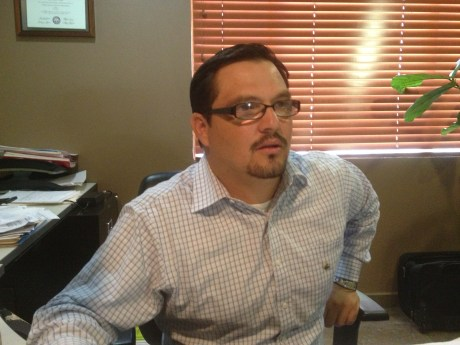 Luis Torres, presidente de la Canaco-Servytur de Nogales.