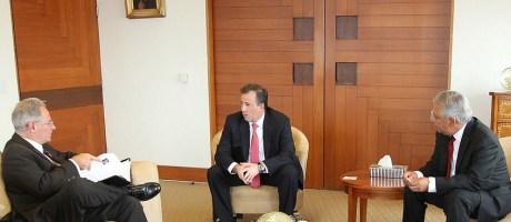 Se reúne RGM con Secretario de Relaciones Exteriores.