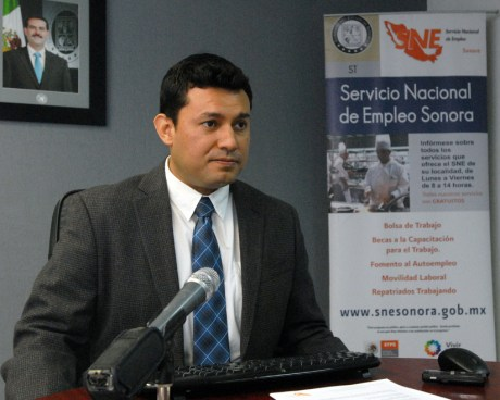 Juan Edmundo López Durand, del Servicio Estatal del Empleo.