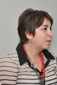 Leticia Amparano Gámez, Directora de Salud Mental en el Estado.