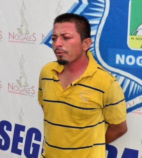 El sujeto detenido acusado de violación.